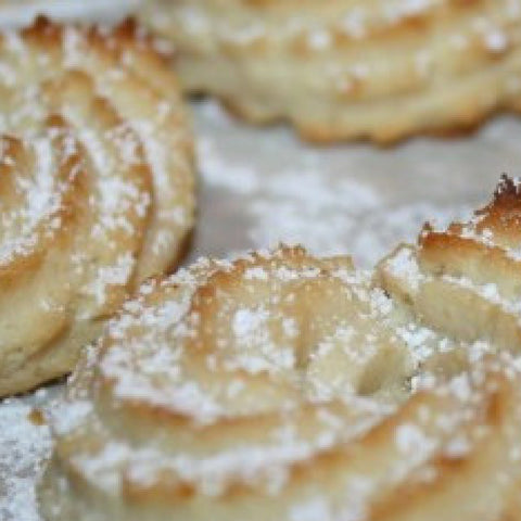 Back to Earth - Italian Style Blood Orange Olive Oil Cookies