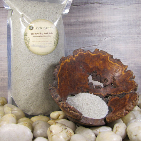 Back to Earth - Tranquility Bath Salts with Canadian Glacial Clay