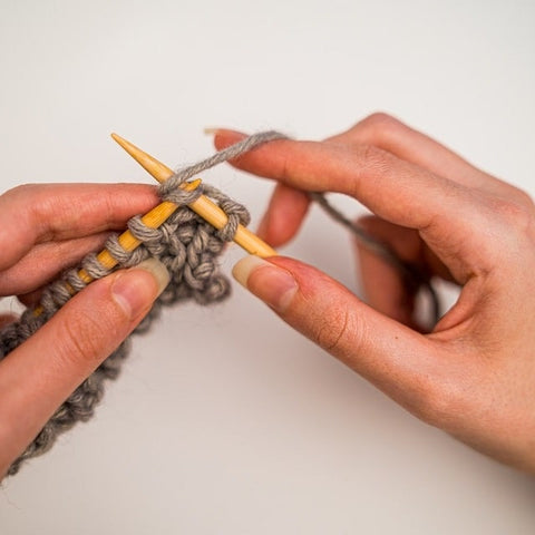 Learn to knit, learn to be kind