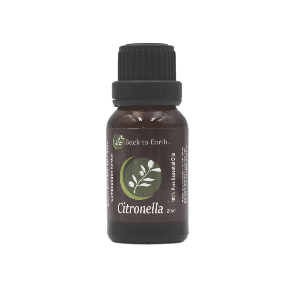 Citronella 100% Pure Essential Oil - 20ml