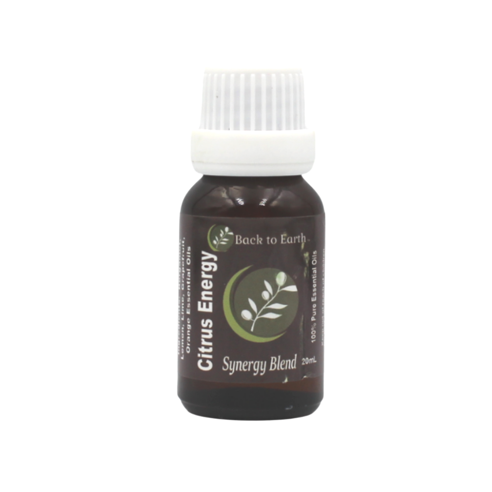Citrus Energy Synergy Oil Blend - 20ml