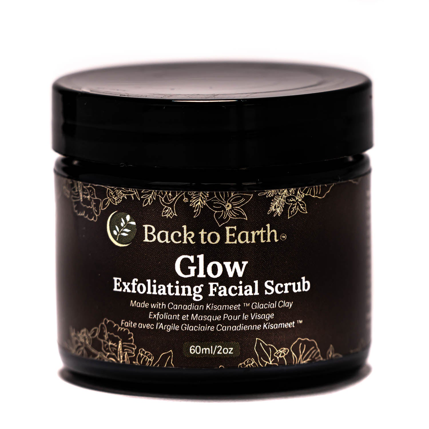 Glow Exfoliating Scrub Kisolite®BMP- 60ml/2oz