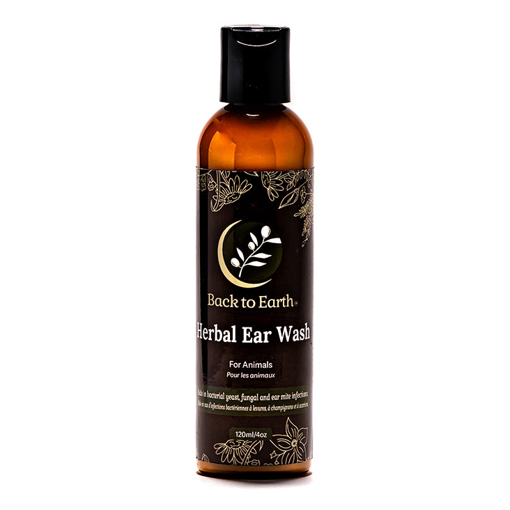 Herbal Ear Wash for Animals - 120ml/4oz