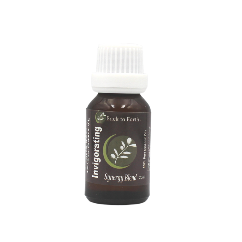 Invigorating Synergy Oil Blend - 20ml