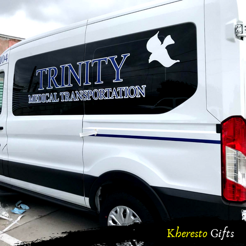 Commercial vehicle lettering - Kheresto Gifts