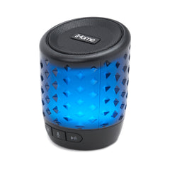 iHome Bluetooth Color Speaker with Siri and Google Assistant Black