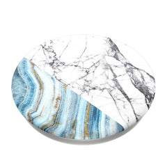 PopSockets PopGrip (Complete Swappable PopGrip) Aegean Marble