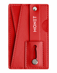 Monet Wallet Kickstand Genuine Leather Supreme Red