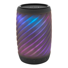 iHome Color Changing Waterproof Bluetooth Speaker with Voice Control Black