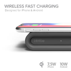 iOttie iON Wireless Fast Charging Pad Plus Qi 10W Grey