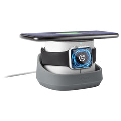 Ventev Wireless Charger Watchdock Duo Qi 10W Grey