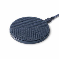 Native Union Drop Qi Wireless Charger Fabric 10W V2 Indigo