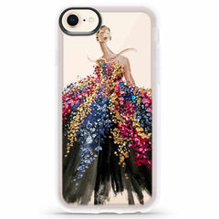 Casetify Grip Case Blooming Gown for iPhone 8/7/6S/6