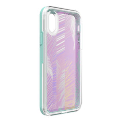 LifeProof Slam Dropproof Case Palm Daze (Clear/White/Blue) for iPhone XS/X