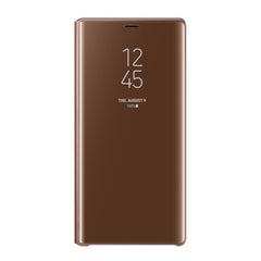 Samsung Clear View Standing Cover Brown for Galaxy Note9