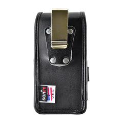 Sonim Leather Pouch Case with Metal Clip Black for XP5s