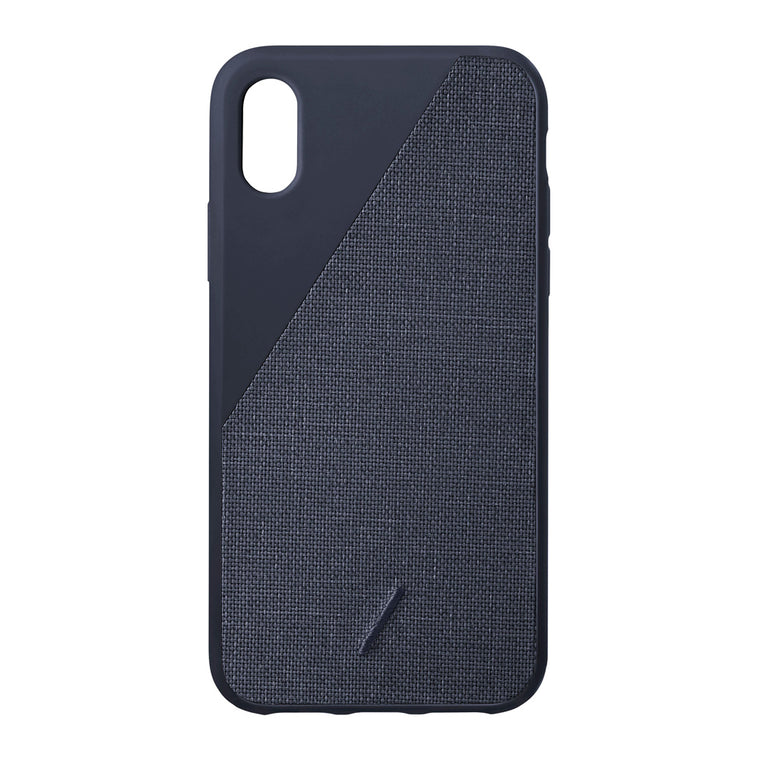 Native Union Clic Canvas Fabric Case Navy for iPhone XR