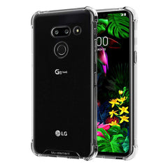Blu Element DropZone Clear Rugged Case Clear for LG G8 ThinQ