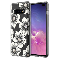 Kate Spade Protective Hardshell Case Hollyhock Floral for Samsung Galaxy S10+
