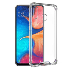 Blu Element DropZone Rugged Case Clear for Samsung Galaxy A20