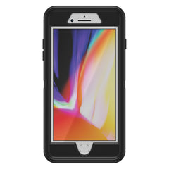 Otterbox Otter + Pop Defender Case with Swappable PopTop Black for iPhone 8+/7+