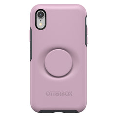 Otterbox Otter + Pop Symmetry Case with Swappable PopTop Mauvelous for iPhone XR