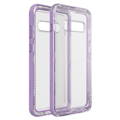 LifeProof Next DropProof Case Ultra (Clear/Violet) for Samsung Galaxy S10