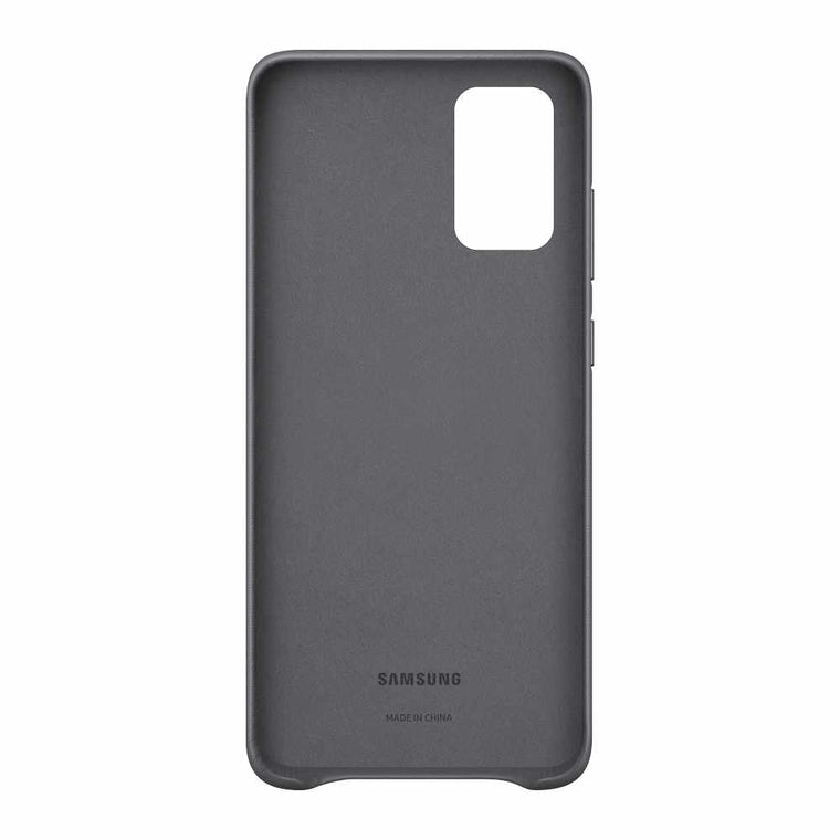Samsung Leather Cover Case Gray for Samsung Galaxy S20+