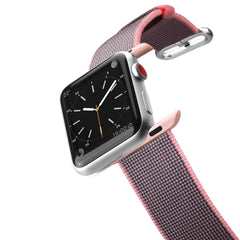 Casetify Nylon Fabric Band Pink for Apple Watch 44/42mm