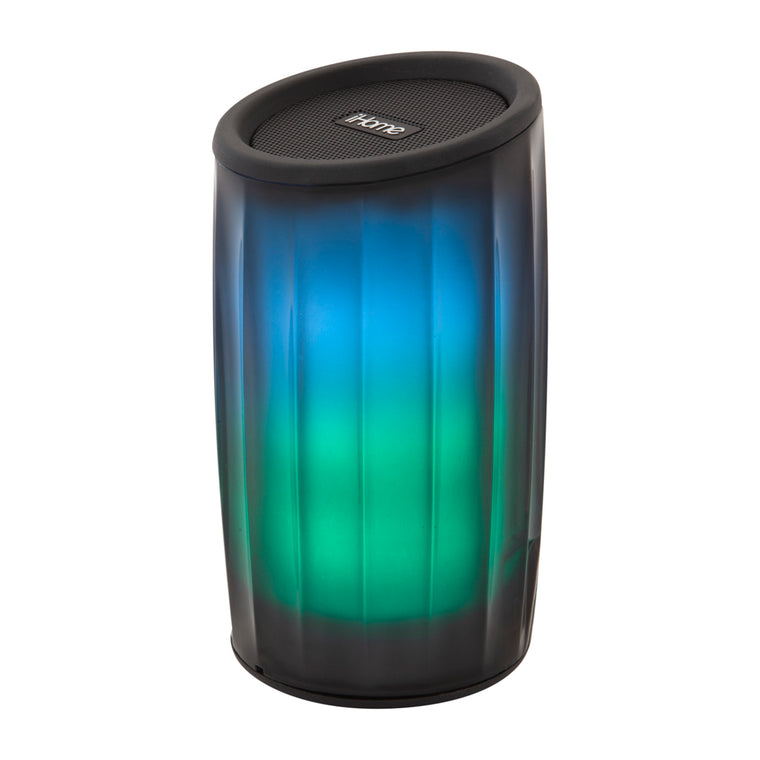 iHome Bluetooth Color Changing Portable Speaker Black