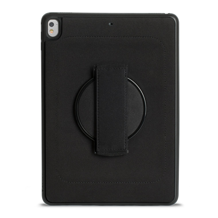 Griffin AirStrap 360 Protective Case Black for iPad 9.7 2018/9.7 2017/Air 2/Air