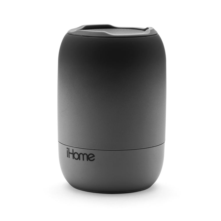 iHome Bluetooth PlayFade Rechargeable Water Resistant Speaker Black/Grey