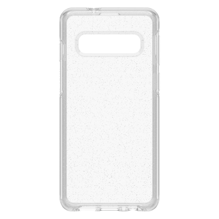 Otterbox Symmetry Clear Protective Case Stardust (Silver Flake/Clear) for Samsung Galaxy S10