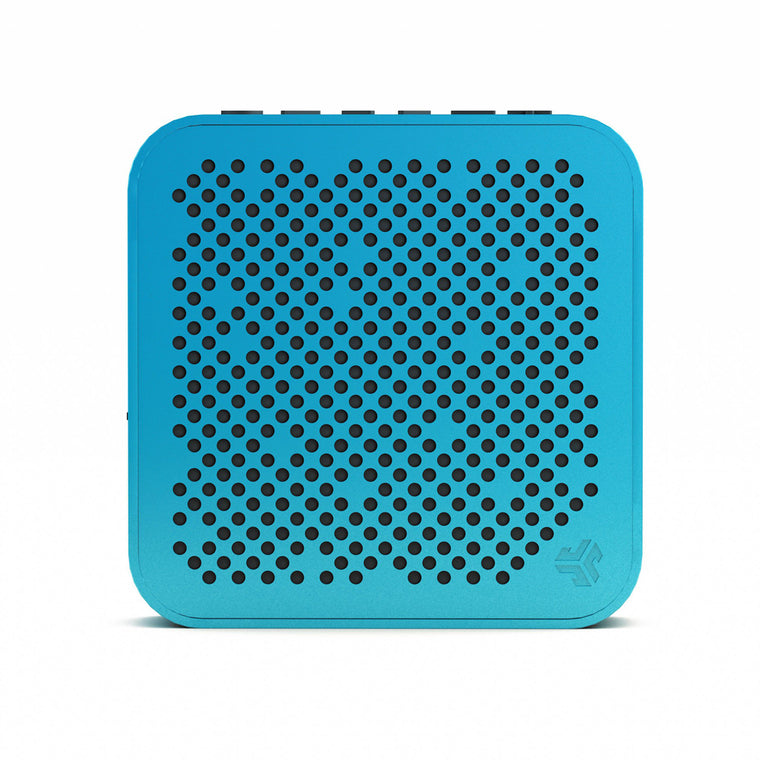 JLab Audio Crasher Mini Splashproof Bluetooth Speaker Blue (English Packaging Only)