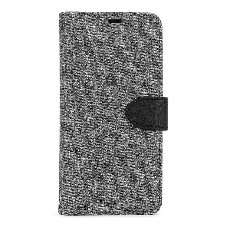 Blu Element 2 in 1 Folio Case Gray/Black for Samsung Galaxy A51