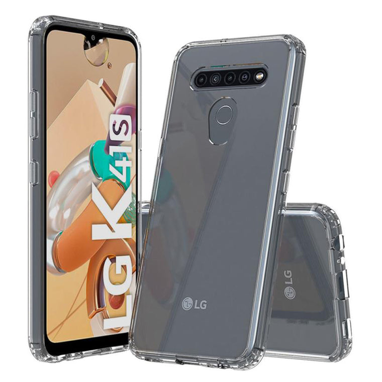 Blu Element DropZone Rugged Case Clear for LG K41S