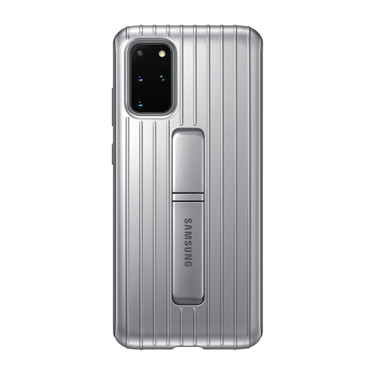 Samsung Protective Standing Cover Case Silver for Samsung Galaxy S20+