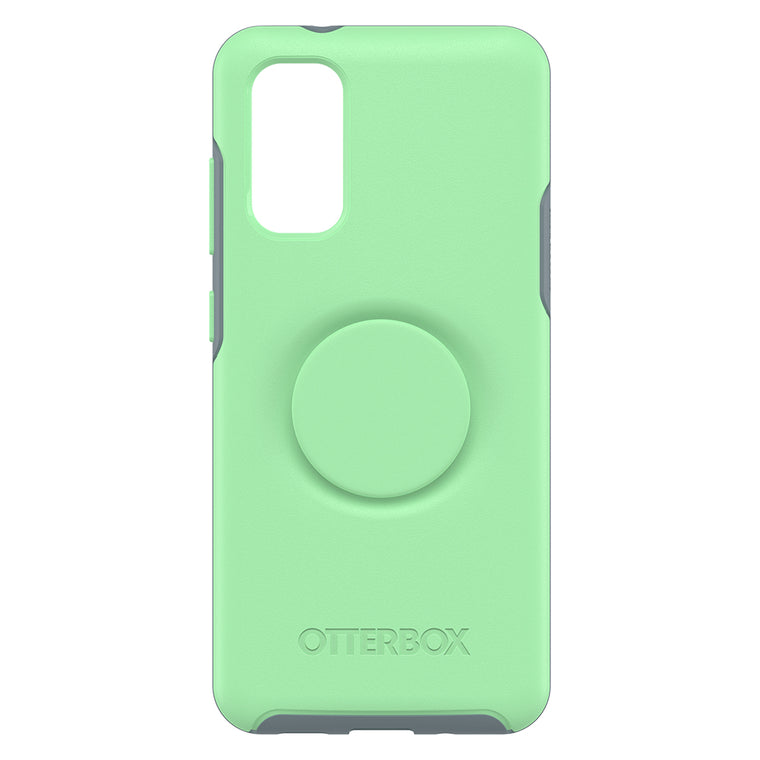 Otterbox Otter + Pop Symmetry Case with Swappable PopTop Mint To Be for Samsung Galaxy S20+