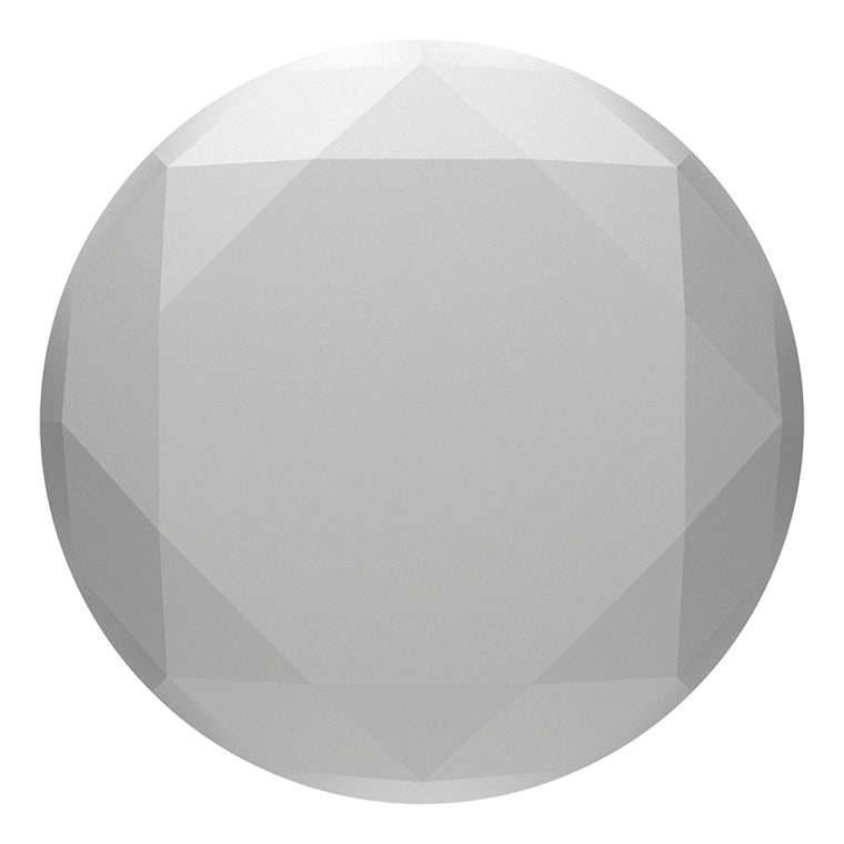 PopSockets PopGrip Metallic Diamond Silver