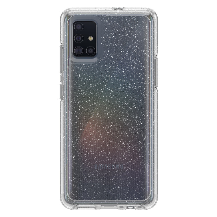 Otterbox Symmetry Clear Protective Case Stardust (Silver Flake/Clear) for Samsung Galaxy A51