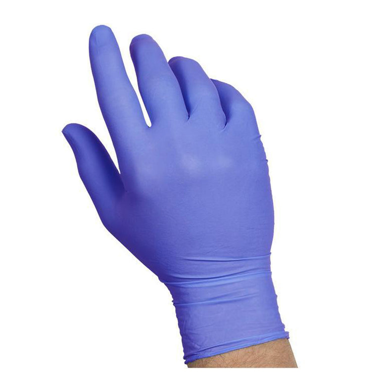 General PPE Nitrile Gloves Medium Powder Free Blue (Box of 300) No Returns