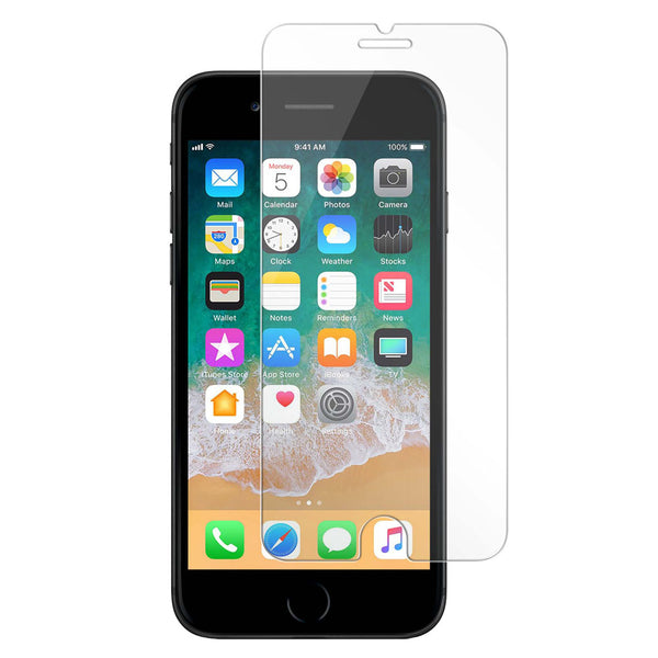 Blu Element Tempered Glass Screen Protector for iPhone 8/7/6S/6 BULK