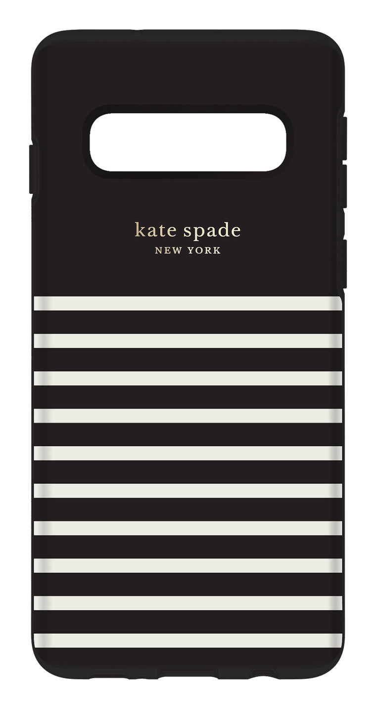 Kate Spade Protective Hardshell Case Feeder Stripe for Samsung Galaxy S10