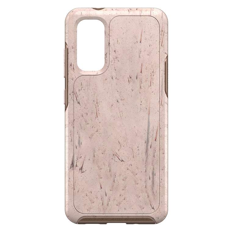 Otterbox Symmetry Clear Protective Case Set In Stone (Stone Red/Rose Gold) for Samsung Galaxy S20+