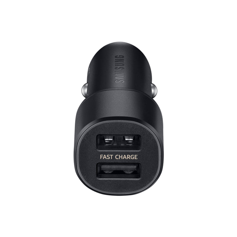 Samsung Dual Fast Charge Car Charger 30W (15W + 15W) Black