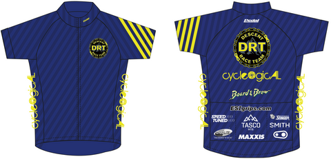 DRT RACE JERSEY BLUE - LADIES