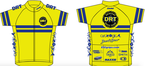 DRT RACE JERSEY YELLOW - LADIES