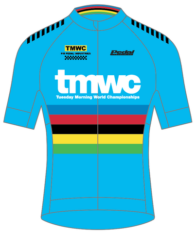 2018 TMWC SPEED JERSEY 1/2 Sleeve