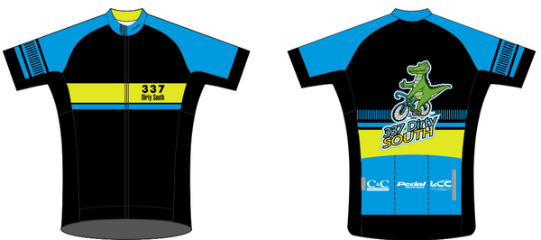 Dirty South Black '19 RACE JERSEY Short Sleeve - Ships In About 4 weeks