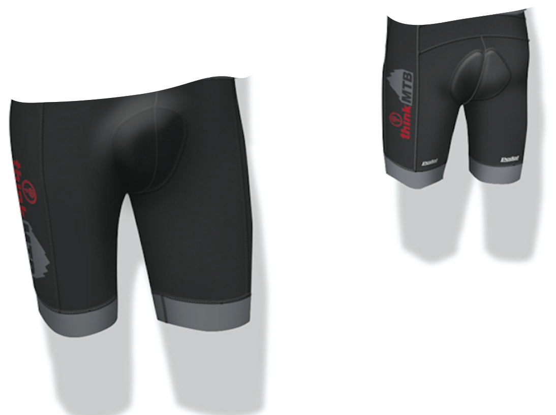 Think MTB Short - NO STRAPS WOMEN